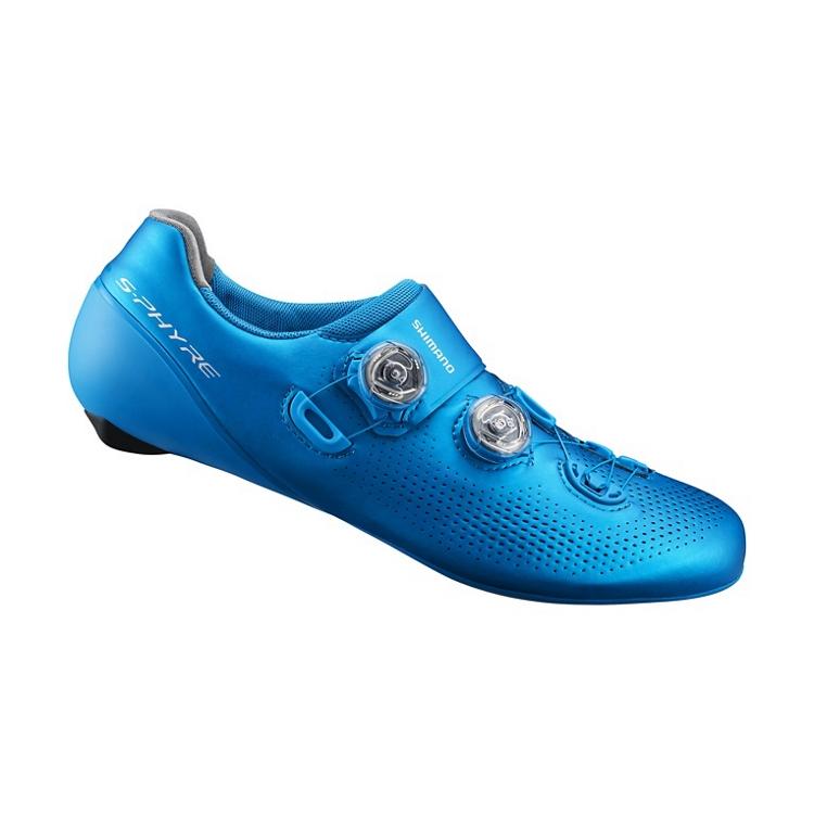 Shimano+RC9+fietsschoenen+blauw