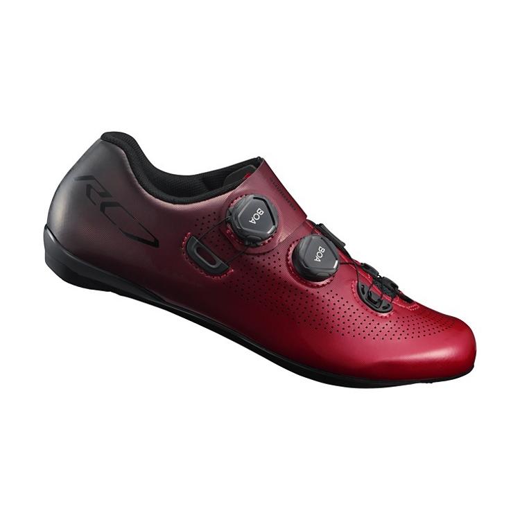Shimano+RC9+fietsschoenen+rood
